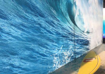 embrace + wave
