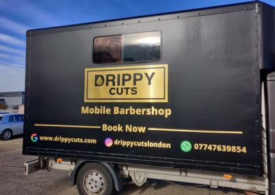 Full Vehicle Wrap Drippy Cuts
