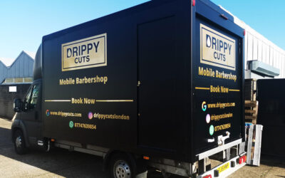 New Full Vehicle Wrap for Drippy Cuts