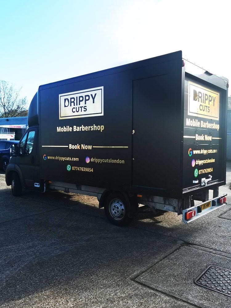 Full Vehicle Wrap Drippy Cuts